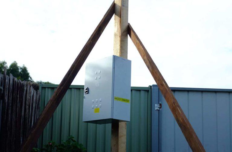 Ahoy Hire Temporary Power Pole