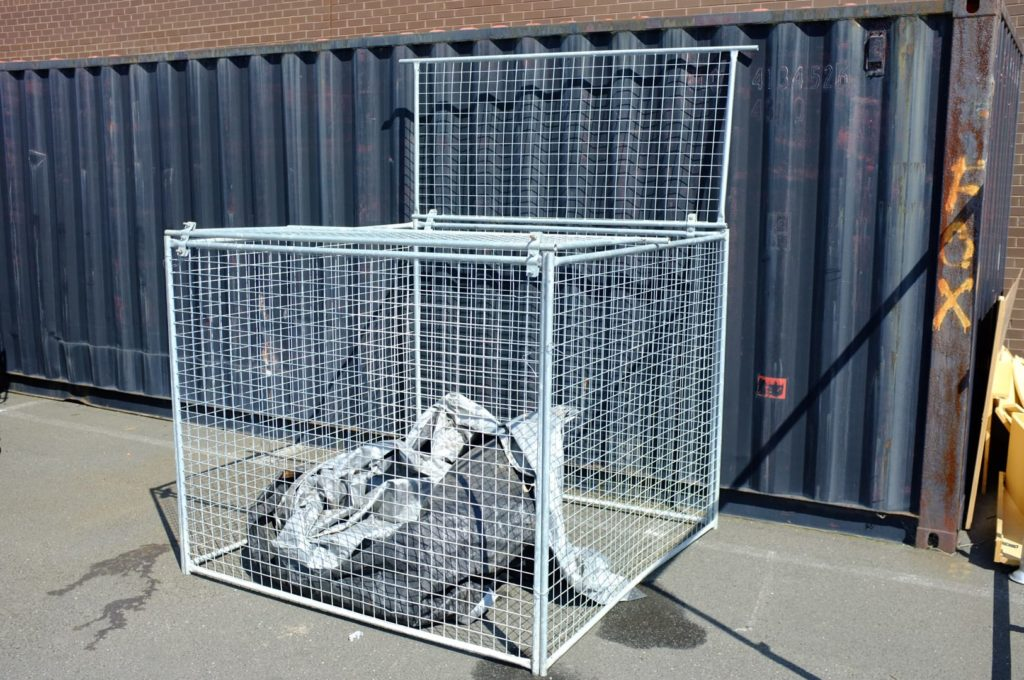 Ahoy Hire Rubbish Cage