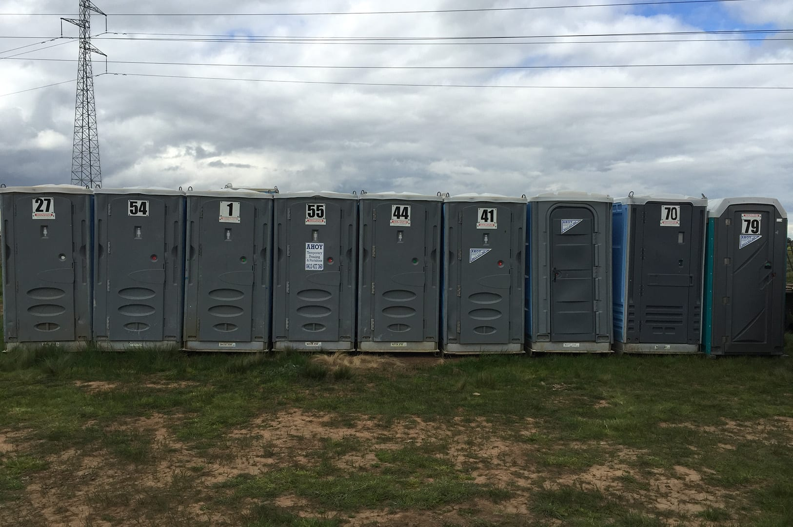 Ahoy Hire Portable Toilets