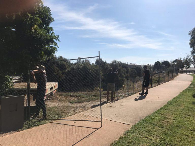 Ahoy Hire Temporary Fence